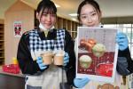 釜石商工高生が商品開発 ジェラート、サンマのアヒージョ缶詰