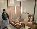 仮設住宅の暮らしを体験 陸前高田・震災伝承施設