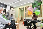 生演奏がつなぐ地域の輪 協力隊員ら企画イベント、一戸で開幕