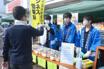 高校生、いきいき接客 花巻、オリジナル商品など販売