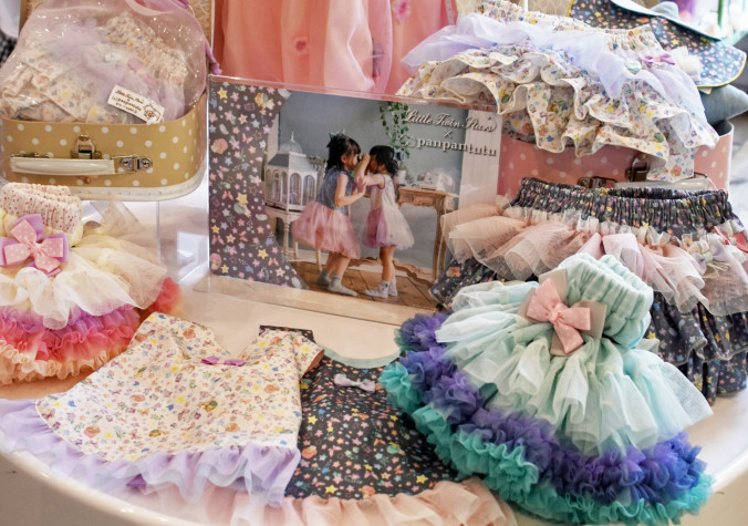 やさしい色合いやデザインが人気の子ども服ブランド「パンパンチュチュ」