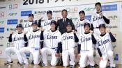 佐藤(富士大)の背番号「31」 西武新人入団会見