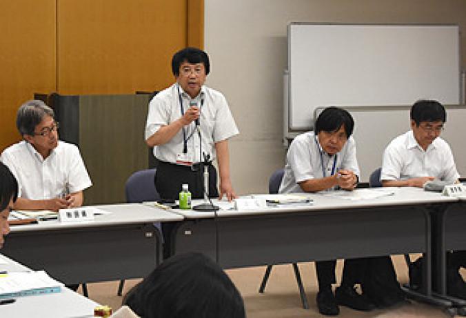 国内推薦への再挑戦に向け対応を協議する4道県の関係者