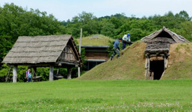 一戸町の御所野遺跡。「北海道・北東北の縄文遺跡群」はユネスコへの推薦が見送られた