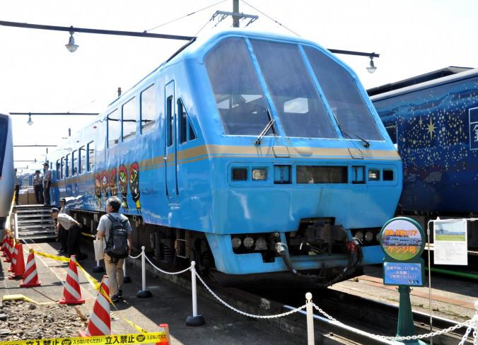 イベント列車として活躍してきた車両「Kenji」。8日の運行で引退する