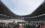 国立競技場で竣工式、五輪主会場