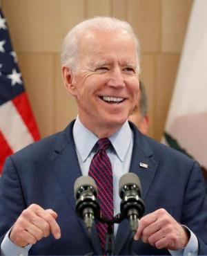 米大統領選で勝利を確実にしたと報じられた、民主党のバイデン前副大統領(ロイター=共同)