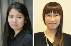 石沢麻依さん、李琴峰さん