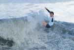 サーフィン女子、都筑が「銅」