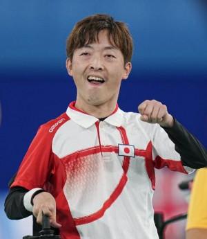 準決勝で勝利した杉村英孝